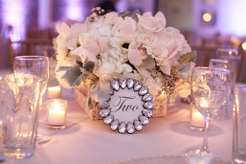 A Glamorous Pink, White, & Silver Engagement Party | Every Last Detail