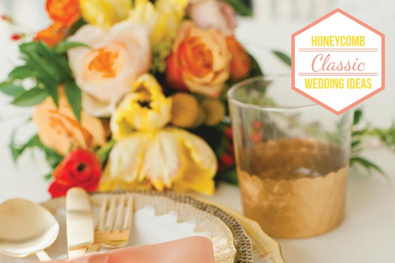Honeycomb Wedding Ideas {Classic} via TheELD.com