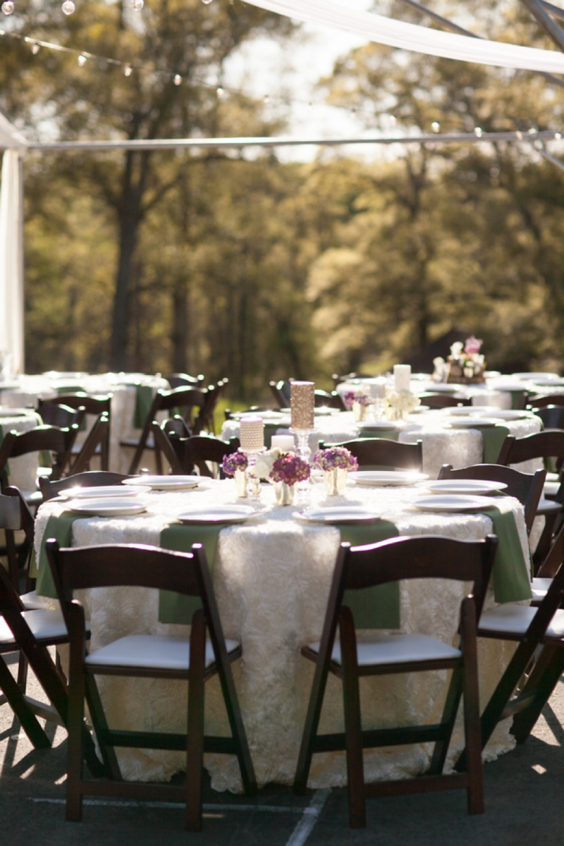 A Purple South Carolina Rustic Elegant Wedding via TheELD.com