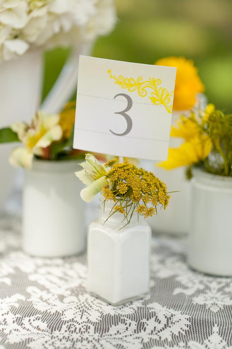 Yellow Wedding Ideas {Vintage} via TheELD.com