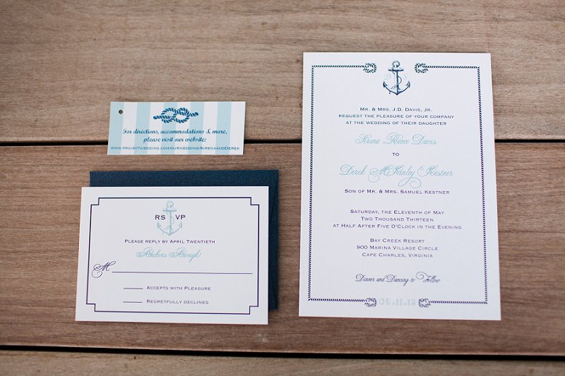 Nautical Eclectic Navy and Aqua Wedding via TheELD.com