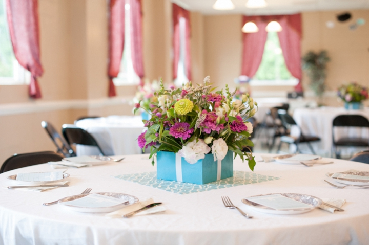 Tiffany & Co. Themed Bridal Shower via TheELD.com