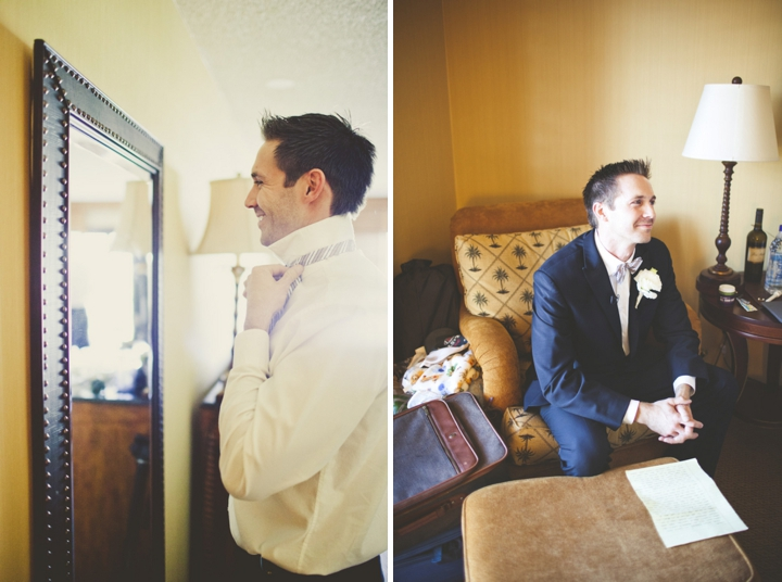 A Romantic Glam Navy, Pink and Gold Wedding via TheELD.com
