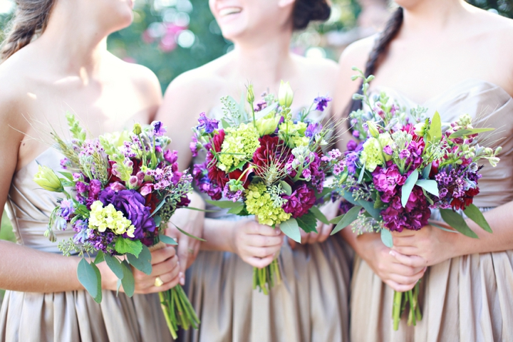A Fall Purple and Champagne Alabama Wedding | Every Last Detail