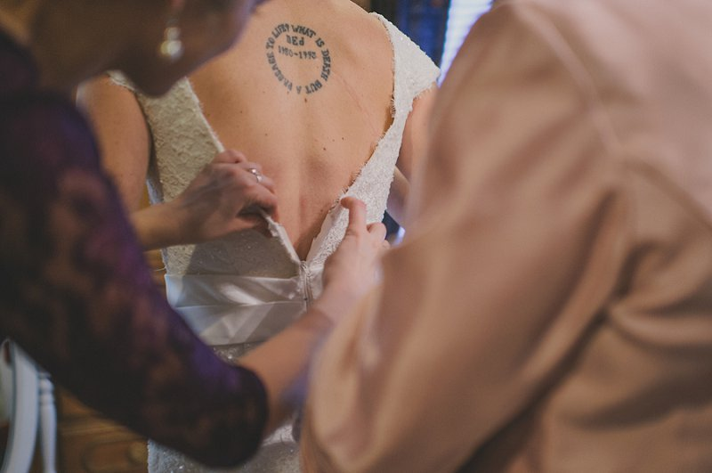 Rustic Vintage Purple and Green Florida Wedding via TheELD.com