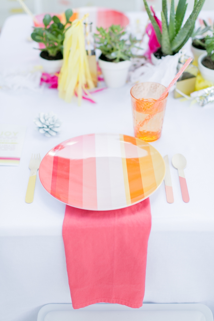 Eclectic Coral, Pink and Yellow Wedding Ideas | Every Last Detail