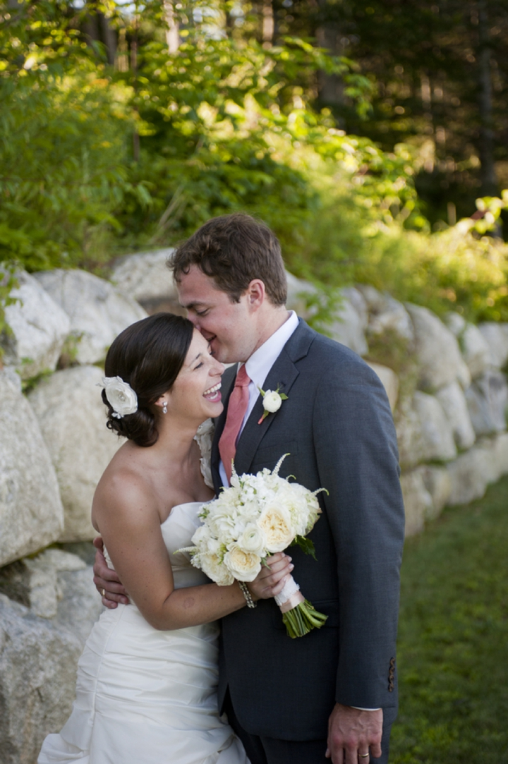 Elegant maine wedding