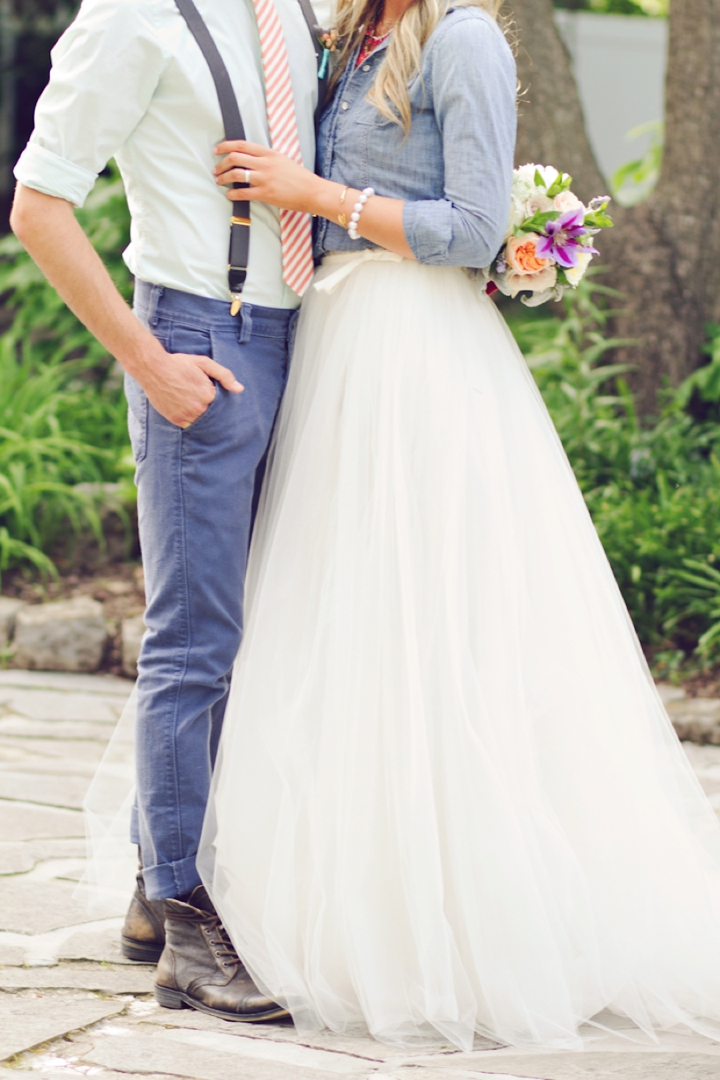 Denim And Watercolor Wedding Ideas Every Last Detail