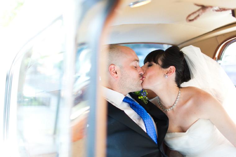 A Blue and Green Literature Themed Wedding via TheELD.com