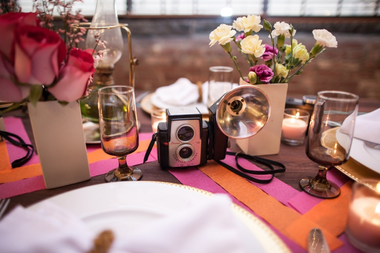 Modern Hipster Wedding Inspiration via TheELD.com
