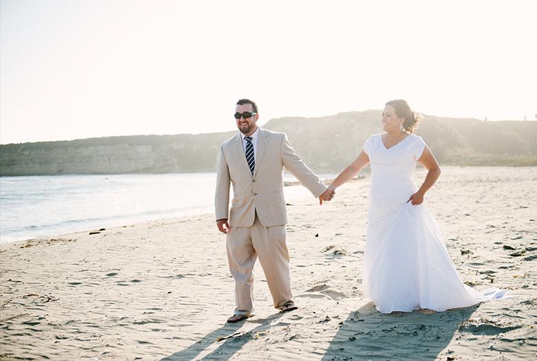 A Nautical Navy and Green California Wedding via TheELD.com