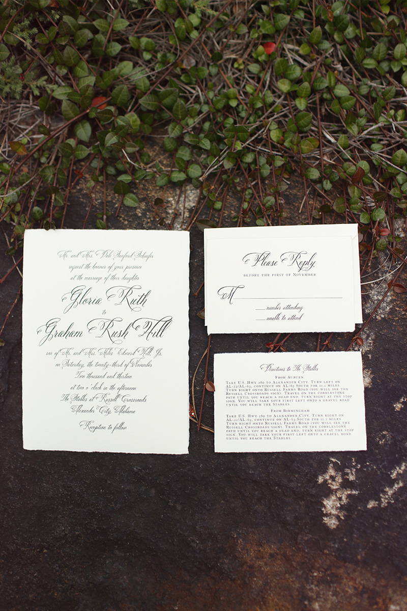 Mint Rustic Elegant Alabama Wedding via TheELD.com