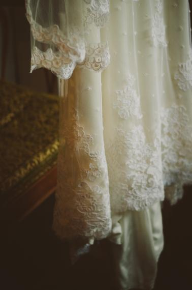 Vintage Eclectic California Wedding via TheELD.com
