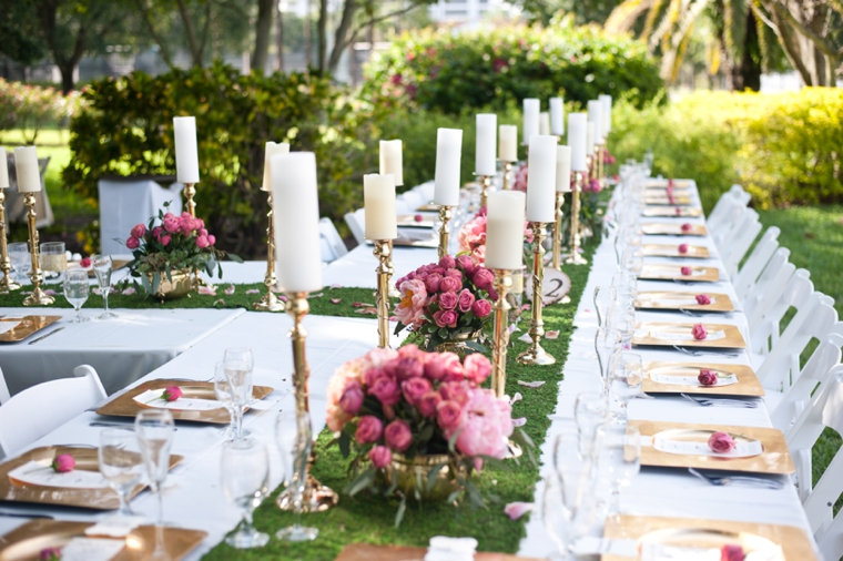 A whimsical romantic garden wedding every last detail for Romantic outdoor decorating ideas