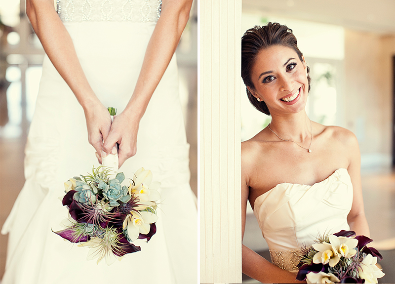 Chic Classic California Wedding via TheELD.com