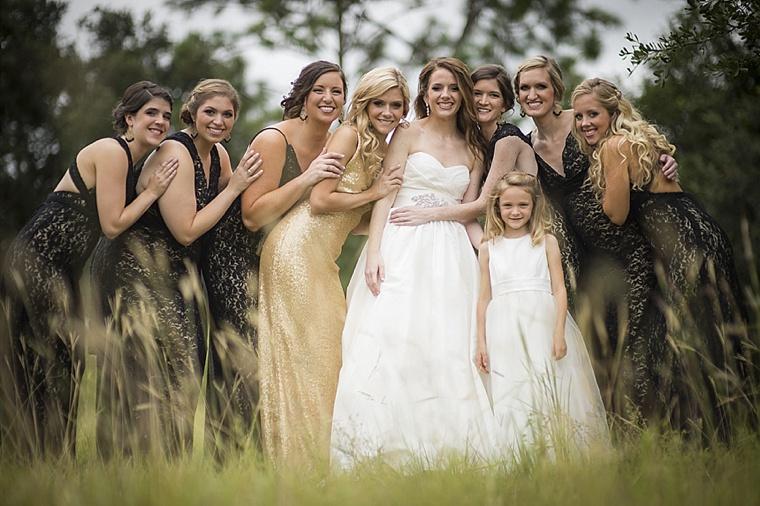 Modern Elegant White, Black and Gold Wedding   Every Last Detail
