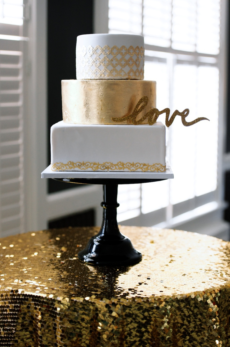 Modern Black and Gold Wedding Ideas | Every Last Detail