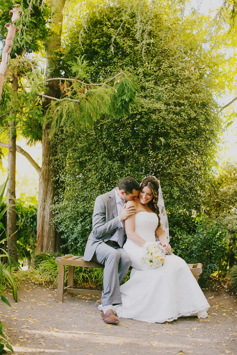 Rustic Yellow and Gray Wine Country Wedding via TheELD.com