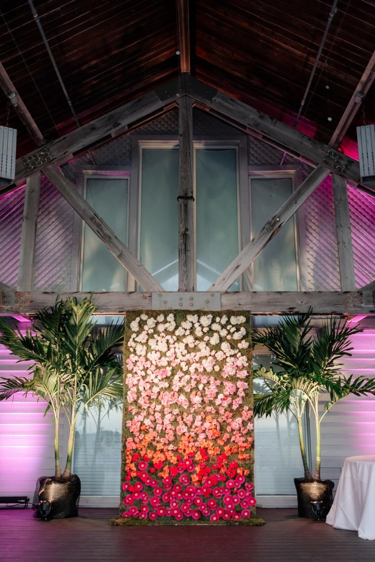A Chic Oceanside Coral Wedding via TheELD.com