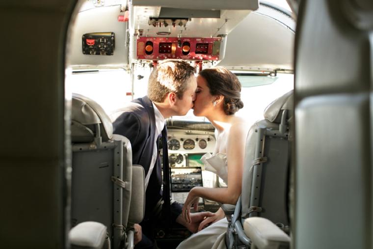 Vintage Modern Travel Inspired Wedding Ideas via TheELD.com