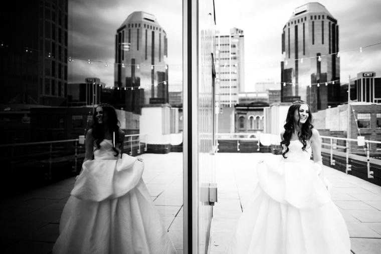Modern Silver and Gray Wedding Inspiration via TheELD.com