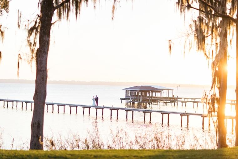 A Romantic Riverfront Blush Wedding via TheELD.com