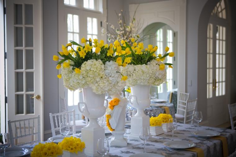 Modern chic yellow and white wedding ideas every last detail modern chic yellow and white wedding ideas via theeld junglespirit Gallery