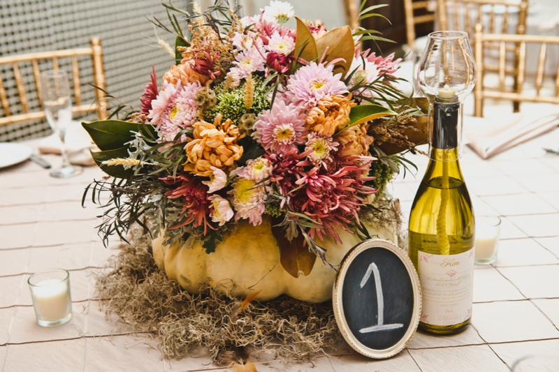 10 Gorgeous Fall Wedding Color Palettes Via TheELD