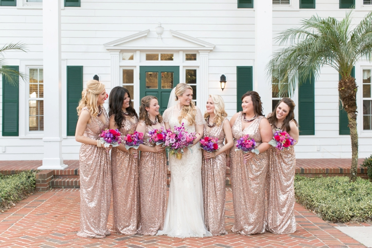 A Chic Plum Amp Champagne Wedding Every Last Detail