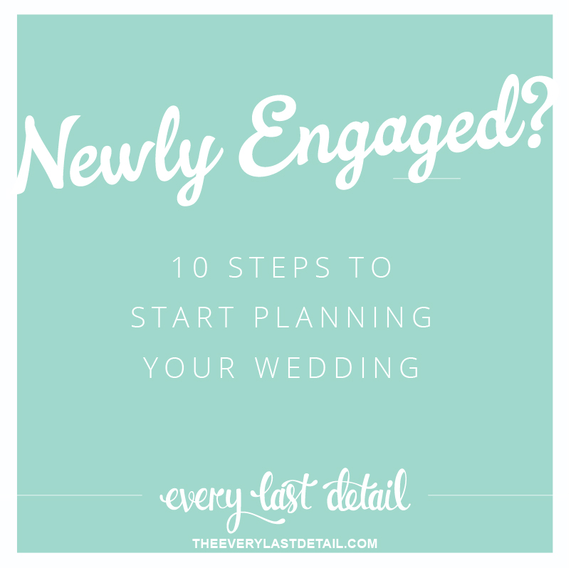 Newly engaged 10 steps to start planning a wedding 10 steps to start planning your wedding via theeld junglespirit Gallery
