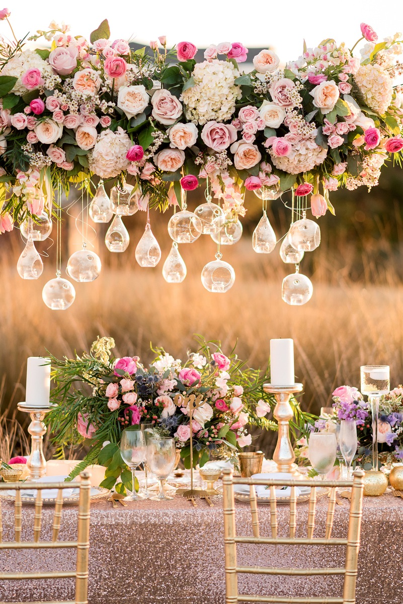 Pink & Purple Southern Glam Wedding Ideas | Every Last Detail