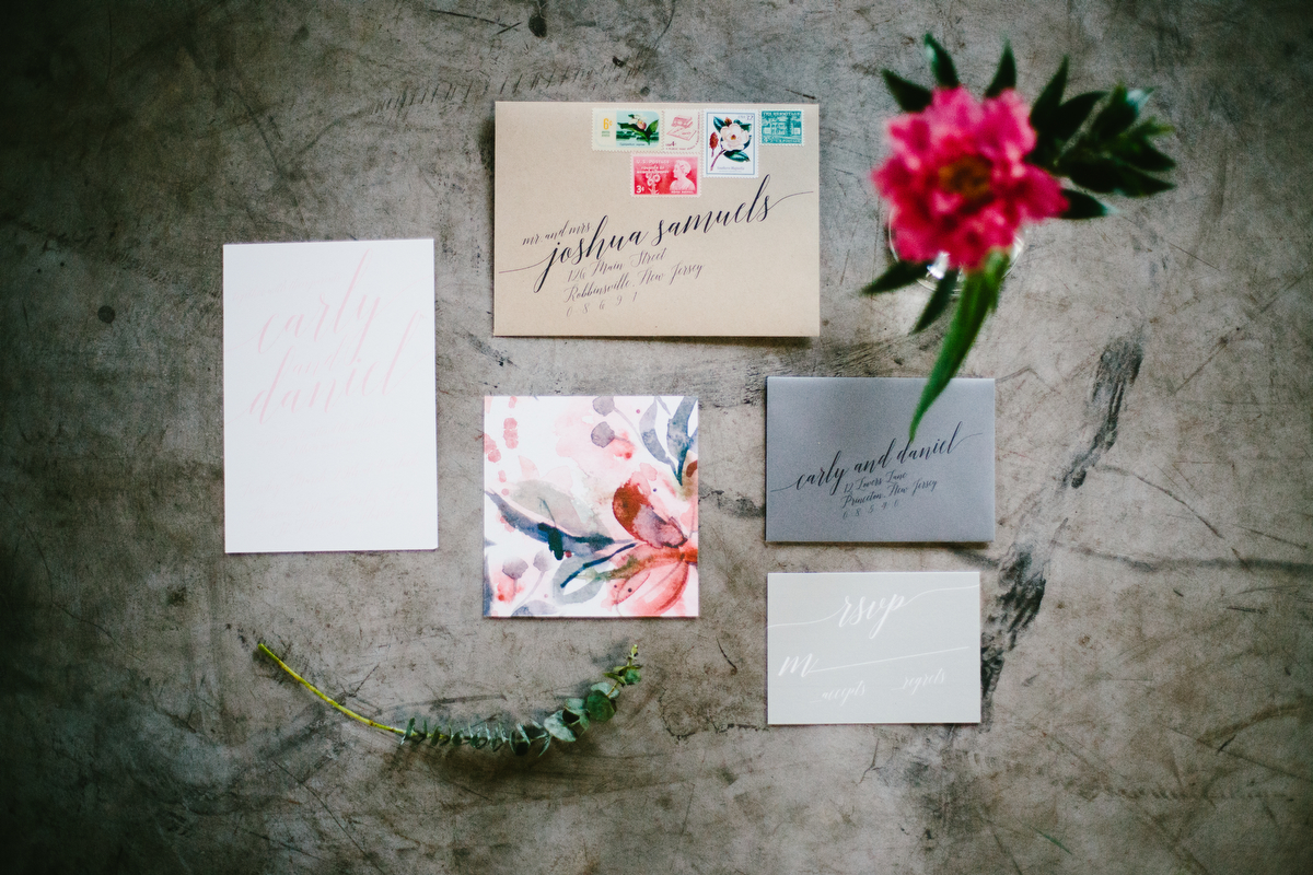 Romantic Boho Wedding Inspiration via TheELD.com