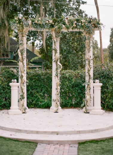 A Navy & Gold Gainesville Wedding via TheELD.com