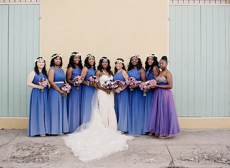 A Colorful & Glamorous New Orleans Wedding via TheELD.com