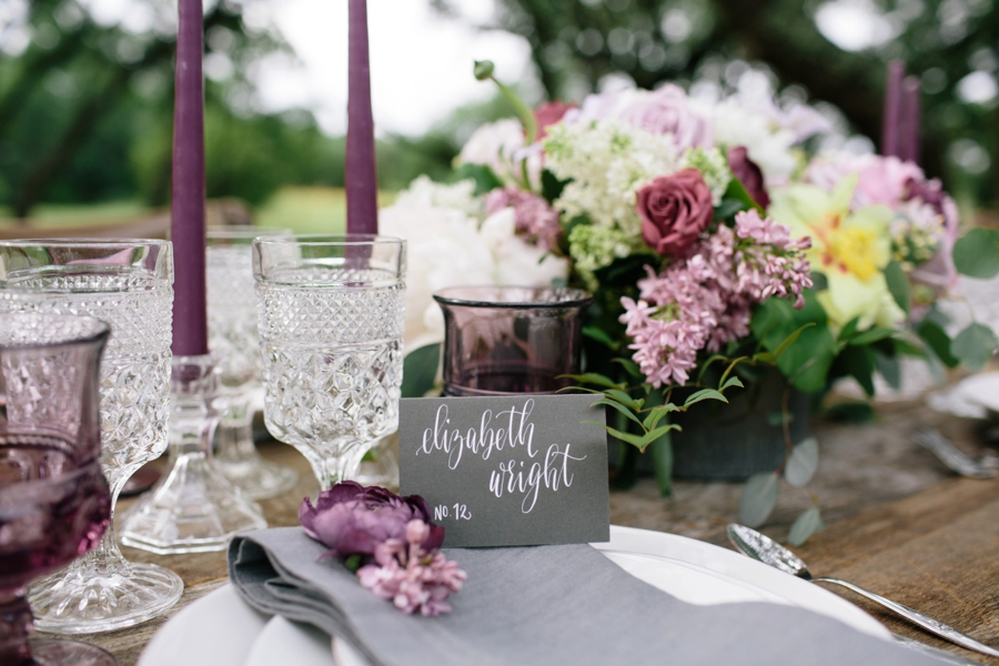 Romantic Lavender and Gray Wedding Ideas | Every Last Detail