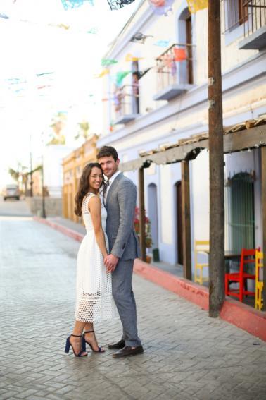 Colorful Destination Wedding In Mexico via TheELD.com
