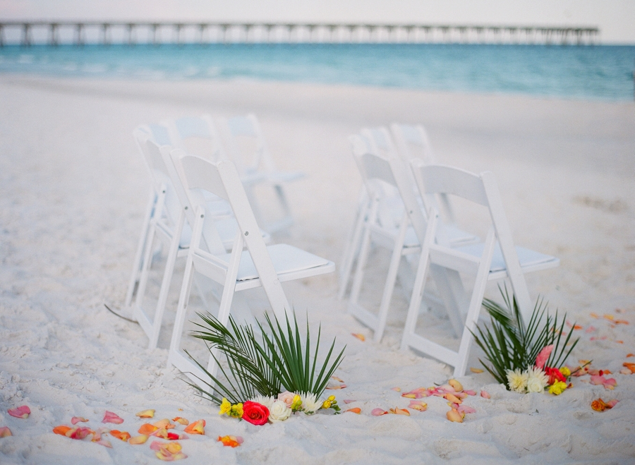 Colorful Caribbean Inspired Destination Wedding via TheELD.com