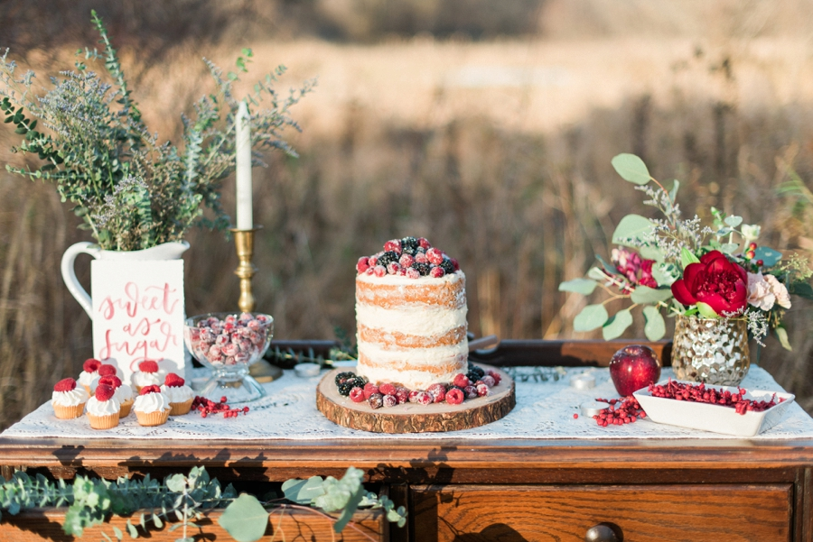 Winter Inspired Boho Chic Wedding Ideas Via TheELD