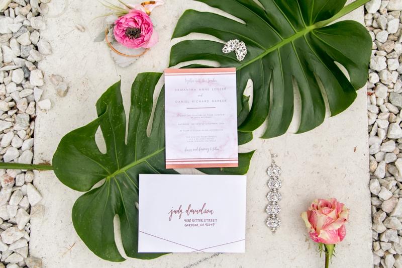 Modern Glam Black & Rose Gold Wedding Ideas | Every Last Detail