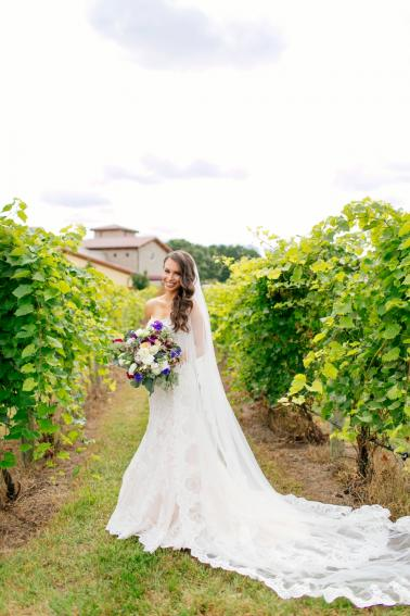 Berry Inspired Wisconsin Wedding via TheELD.com