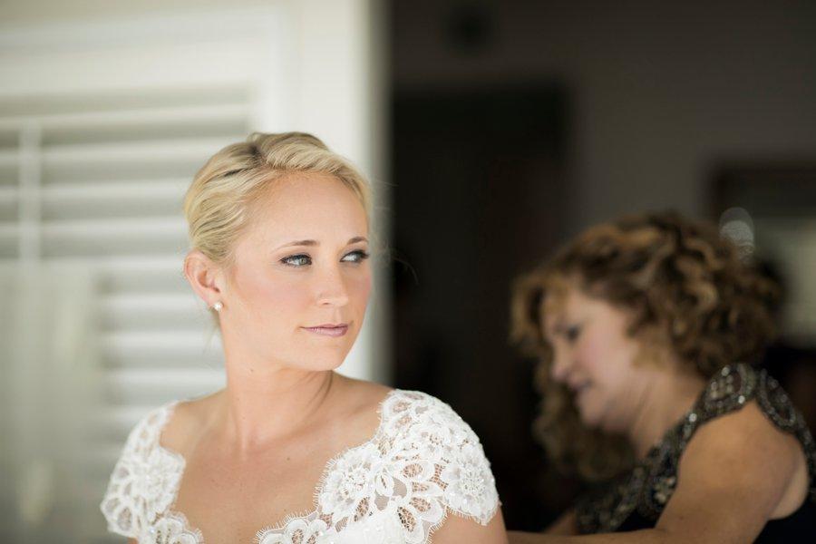 Green & White Elegant Pensacola Wedding via TheELD.com