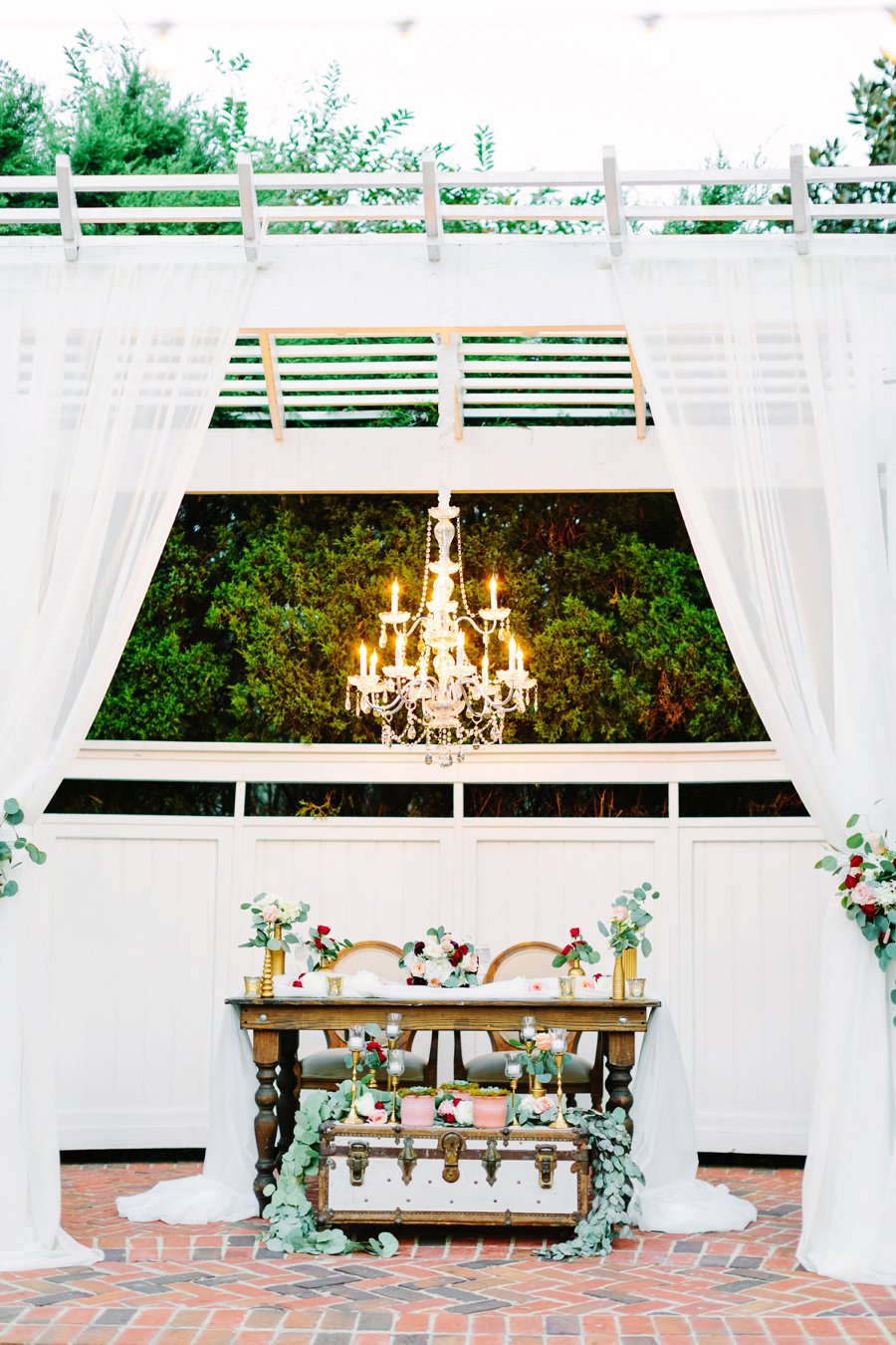 Classic Red and White Central Florida Wedding via TheELD.com
