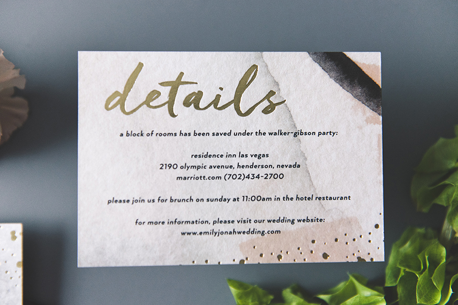Try Before You Buy Wedding Invitations | Every Last Detail