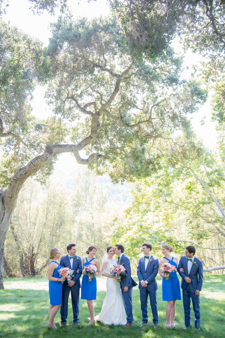 A Bright & Colorful Wedding In California via TheELD.com