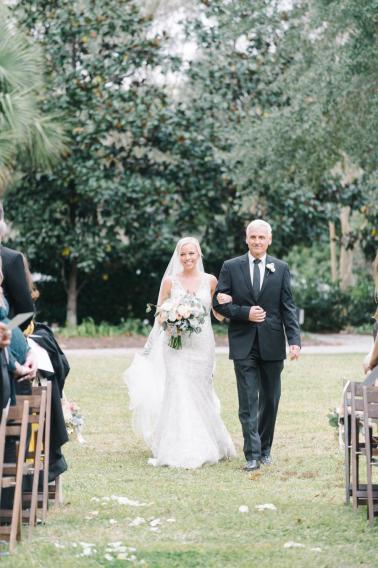 A White and Teal Southern Charleston Wedding via TheELD.com
