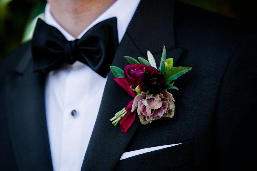 A Burgundy and Green Industrial Georgia Wedding via TheELD.com
