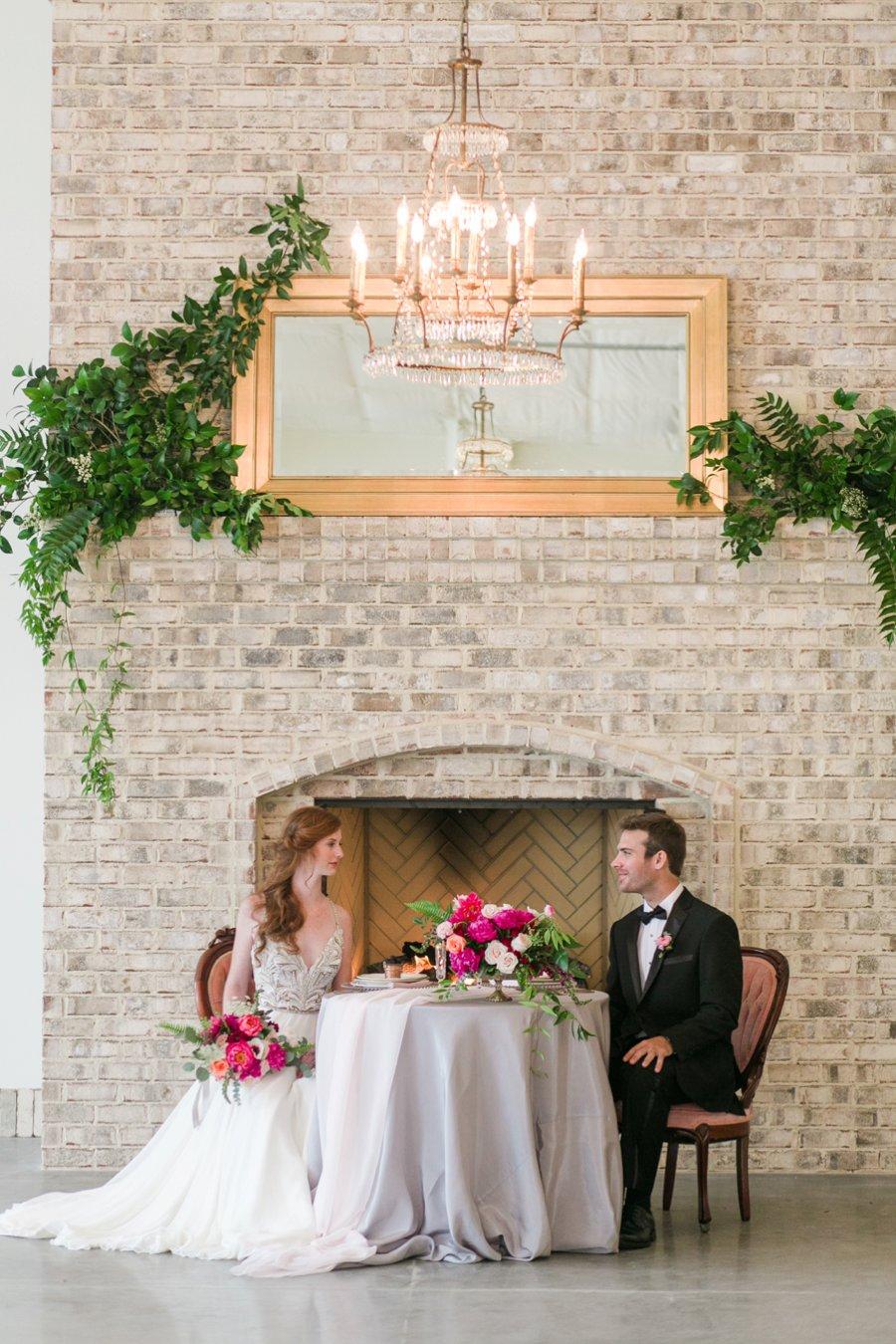 Pink Rustic Garden Inspired Wedding Ideas via TheELD.com