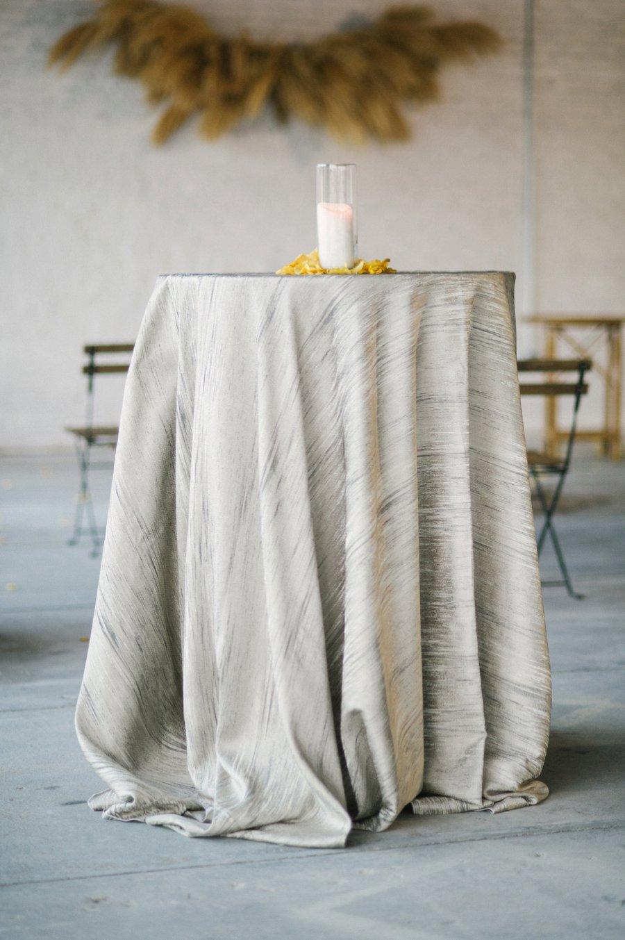 Romantic Peach & Yellow Industrial Wedding Ideas via TheELD.com