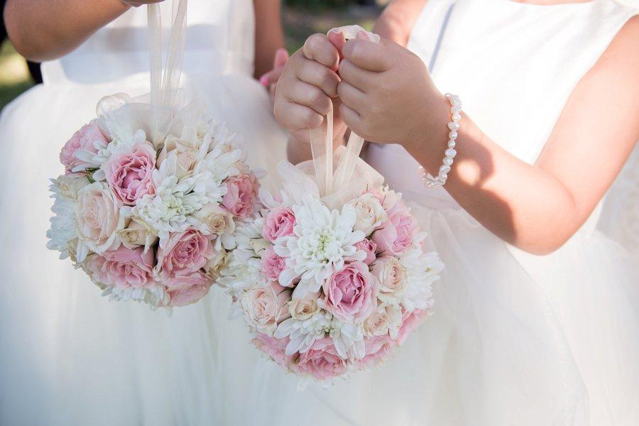 A Pink & White Classically Romantic Florida Wedding via TheELD.com