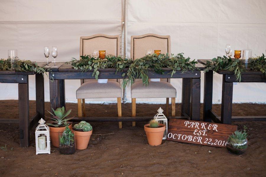 A Rustic Organic Blue & Green California Wedding via TheELD.com